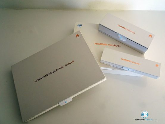 Huawei MateBook - SmartTechNews - Lieferumfang