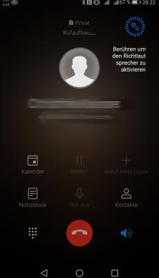 Richtmikrofon Freisprechen - Huawei mate 9