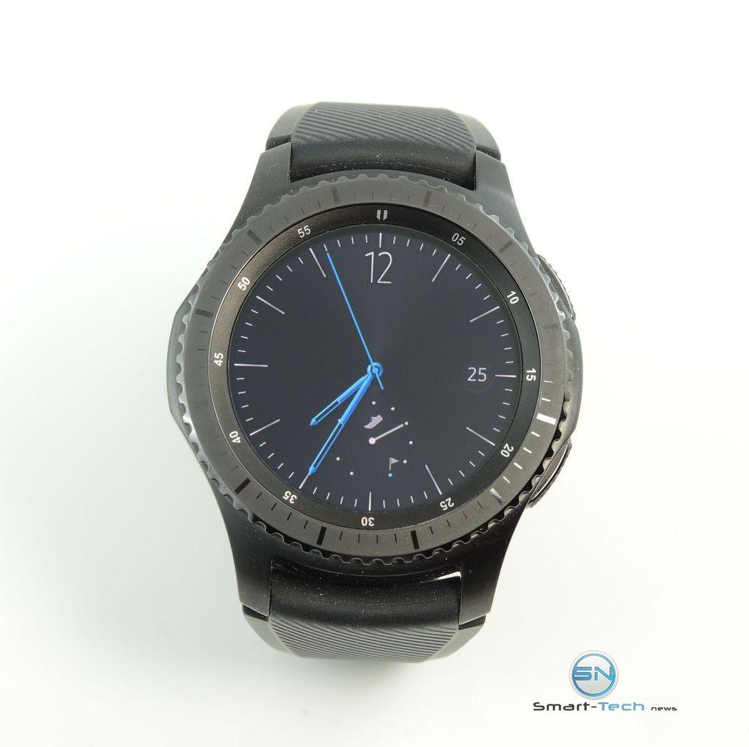 Samsung Gear S3 frontier SmartWatch sportlichen Ambitionen