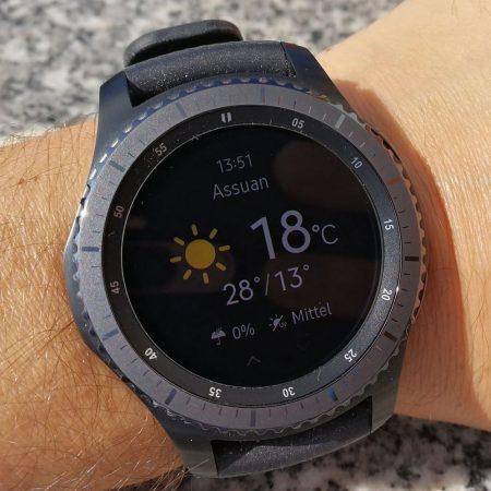 Urlaubswetter check - Samsung Gear S3 - SmartTechNews
