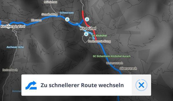 Alternative Route Echtzeit Navigation - Sygic - SmarttechNews