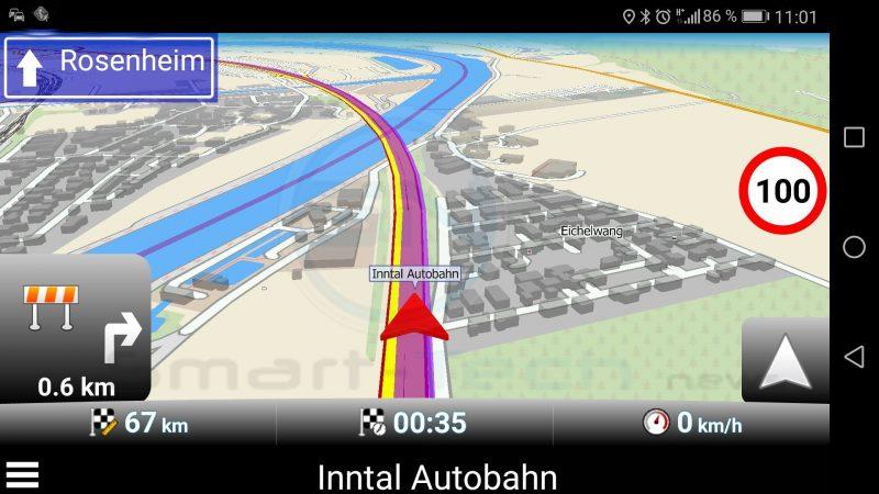 Baustellen Meldung - MapFactor Navigator - SmartTechNews