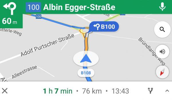 Kreuzungs Ansicht - Google Maps - SmartTechNews