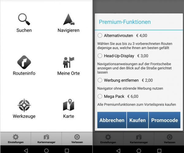 MapFactor Navigator - Menü und Extra Funktionen - SmartTechNews