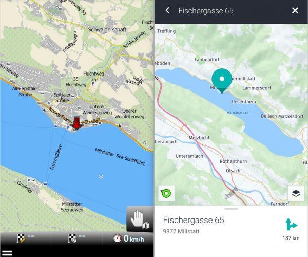 MapFactory Navigator und Here WeGo Navi - SmartTechNews