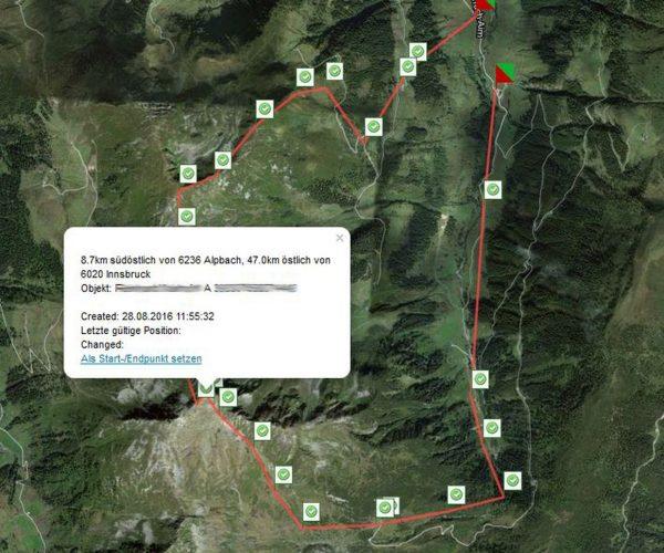Touren Tracking pe-sos GPS Notruf Tracker