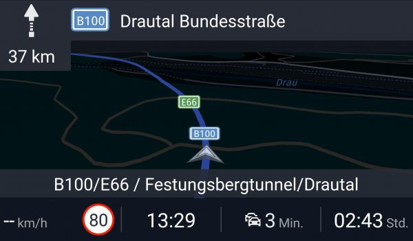 Tunnel und Nachtansicht - Here WeGo - SmartTechNews