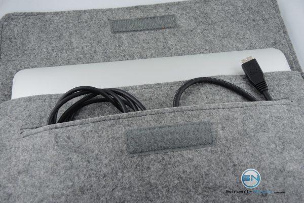 Kabelfach - Filztasche Laptop Tasche - SmartTechNews