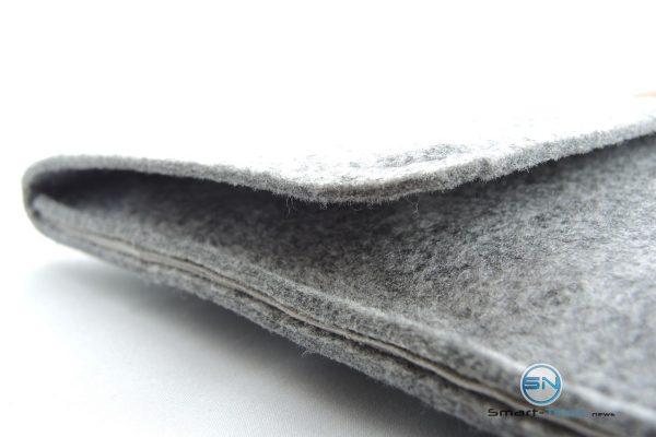 Nähte und Verarbeitung - Filztasche Laptop Tasche - SmartTechNews
