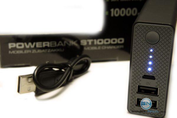 Ladekontrolle Intenso 10000mAh PowerBank - SmartTechNews