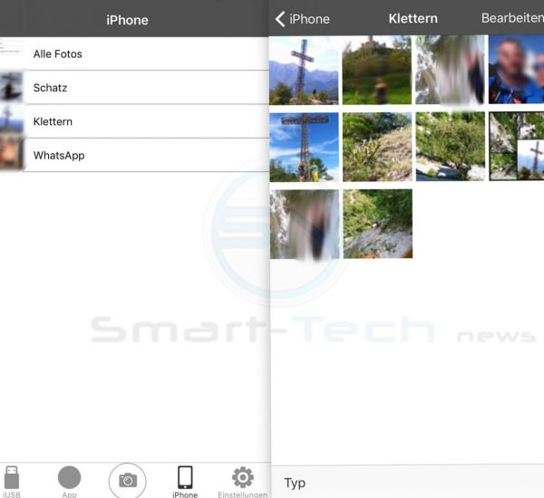 iUSB App Apple Datenvorschau - SmartTechNews