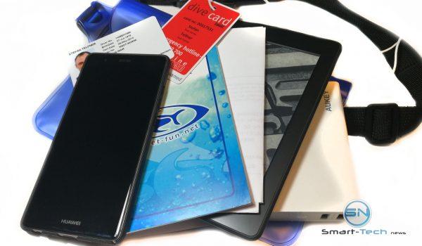 Diving Unterlagen Smartphone Powerbank - ipow Wasserdichte Tasche - SmartTechNews