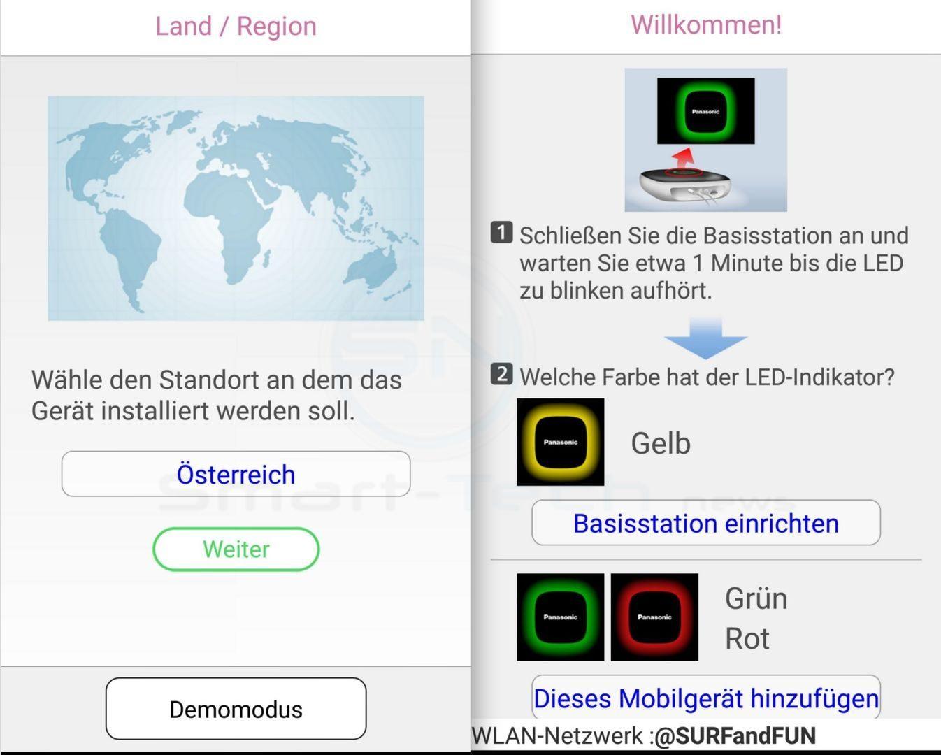 Länder Code AT - Panasonic SmartHome KX-HNC800 Full HD Kamera - SmartTechNews