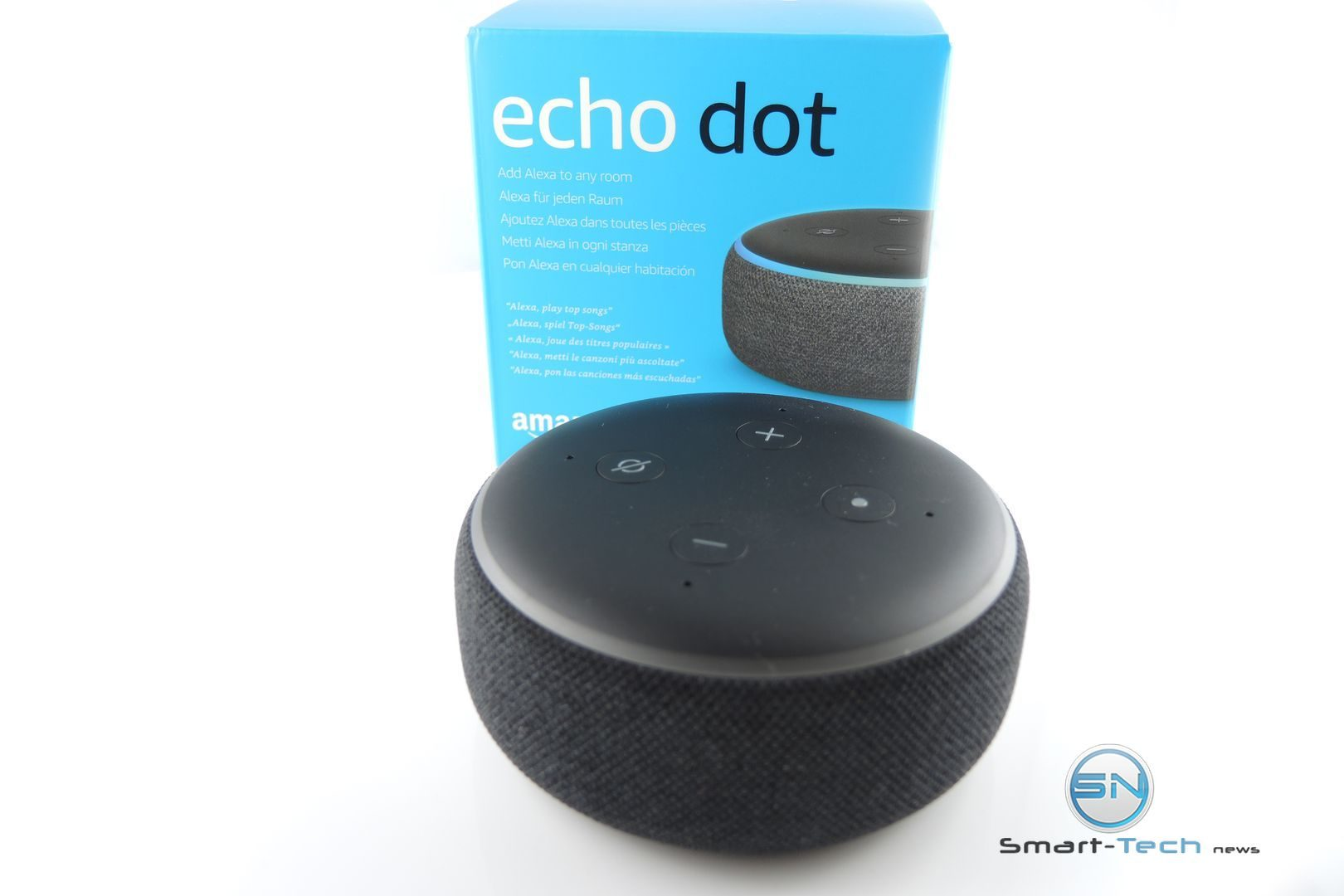 Amazon Echo Dot 3 - SmartTechNews