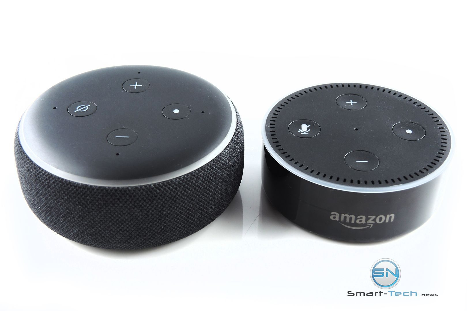 Amazon Echo Dot 3 vs Dot 2 - SmartTechNews