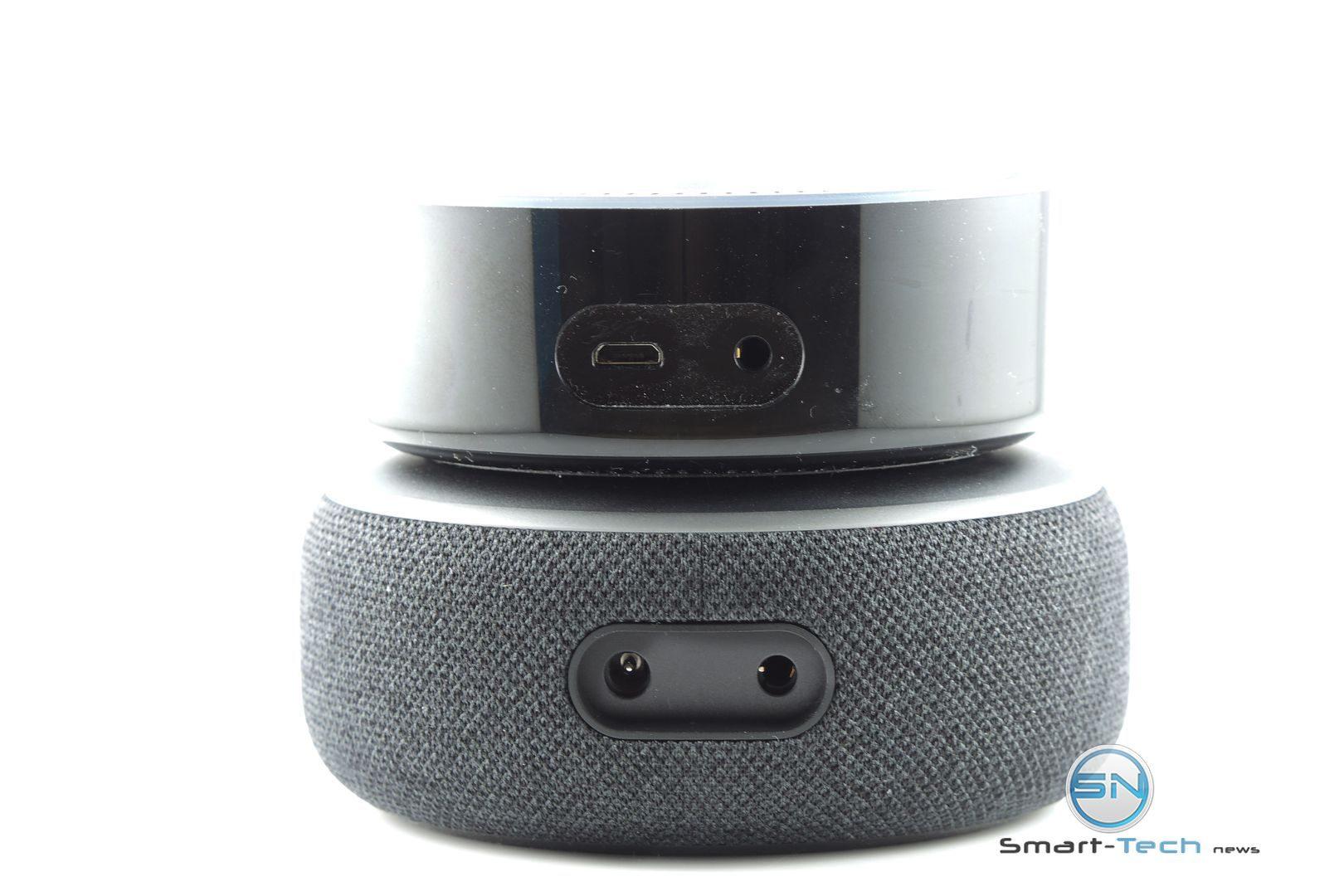 Anschlüsse Amazon Echo Dot 3 vs Dot 2 - SmartTechNews