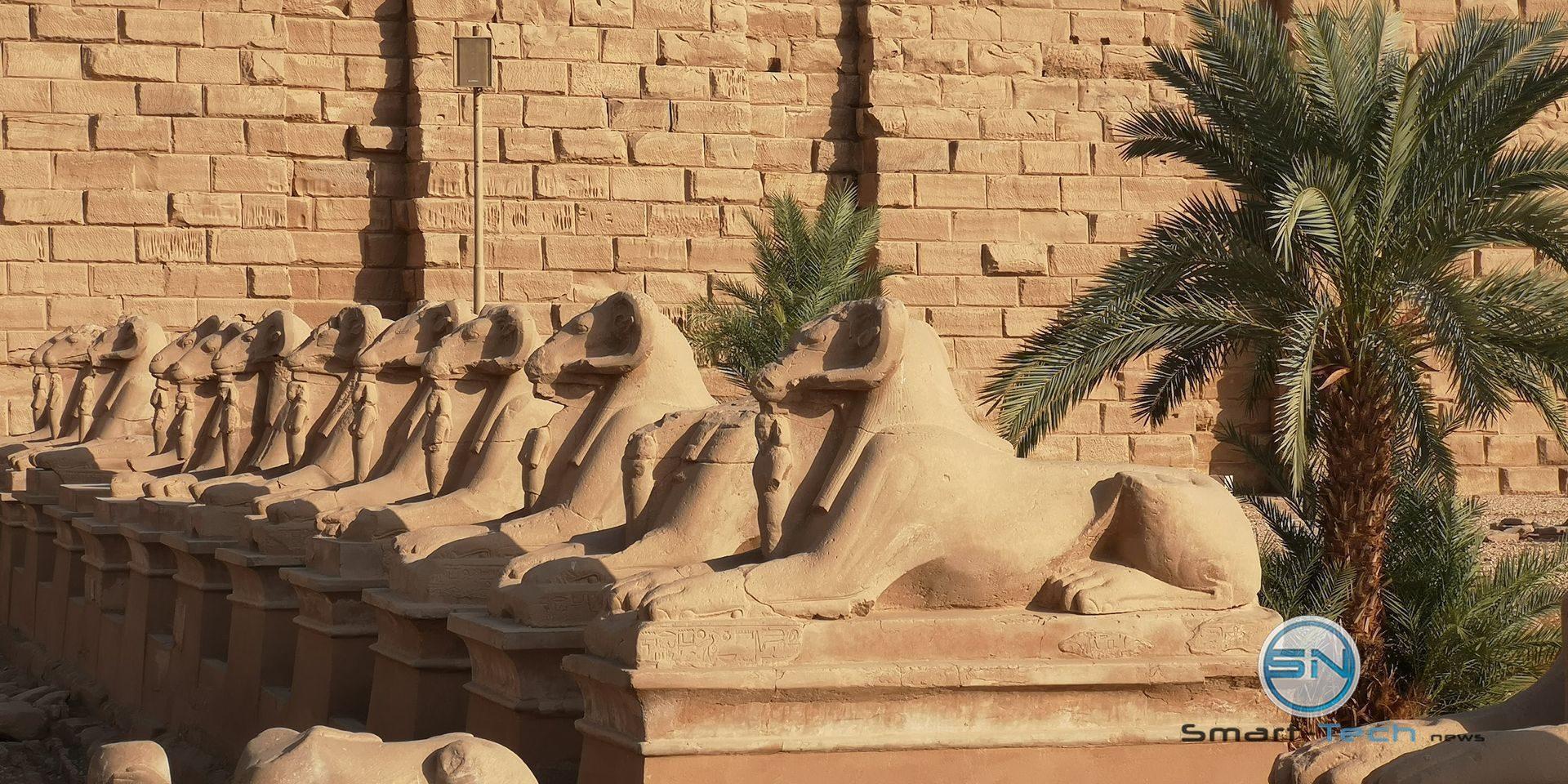 Kultur in Luxor Huawei P20pro