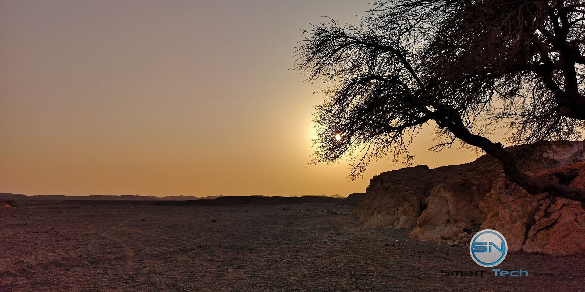 Sunset BBQ Wüste Huawei P20pro
