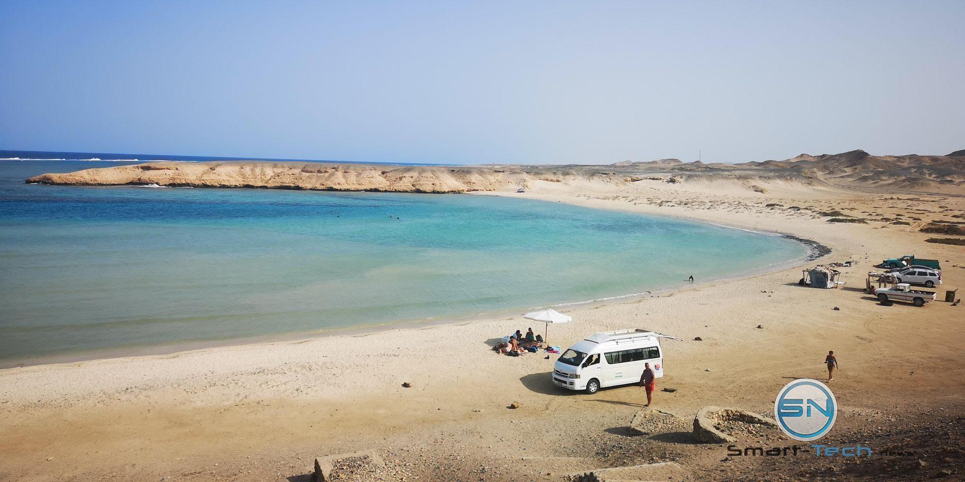 the Beach Marsa Assalaya Huawei P20pro