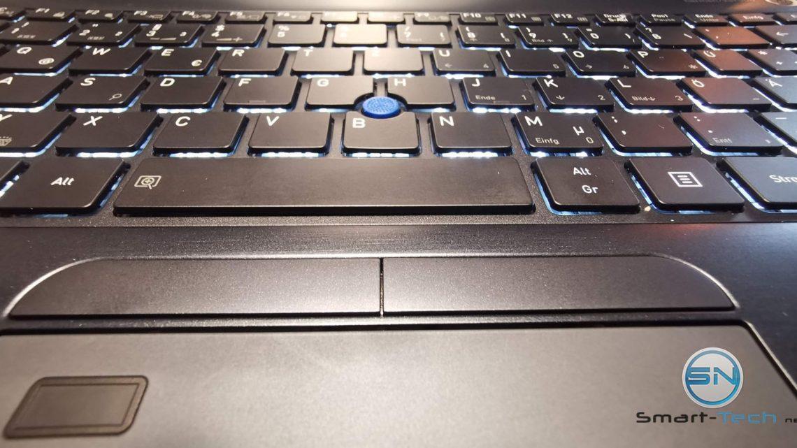 Die Toshiba Tecra X40-E-10w, ein Laptop wird feminin